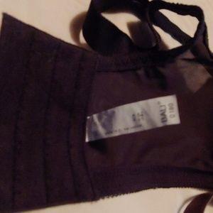 Bali Intimates & Sleepwear - Black Bali 42d w/wire and brown Glamorise 42dd